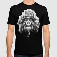 Commander Mens Fitted Tee Black SMALL