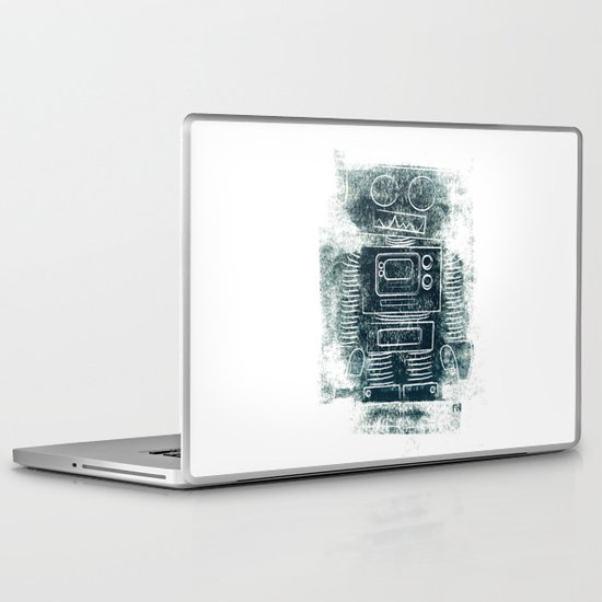 Robot Robot Laptop & iPad Skin
