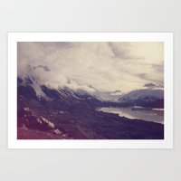 New Zealand (4) Art Print