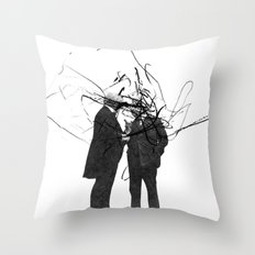 quick question Throw Pillow