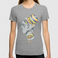 Sorbet Womens Fitted Tee Tri-Grey SMALL