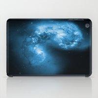 Blue Galaxy iPad Case