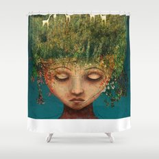 Quietly Wild Shower Curtain