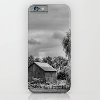 Down on the Farm Black and White iPhone 6 Slim Case