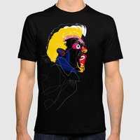 060115 Mens Fitted Tee Black SMALL