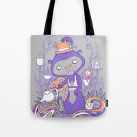 Tea Monkey Tea Party Tote Bag