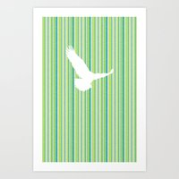 Eagle Has Landed Art Print