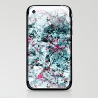 iPhone & iPod Skin featuring FLORAL WAVES by RIZA PEKER