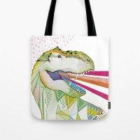 Dinosaur / August Tote Bag