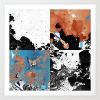 Marble Inversion Art Print