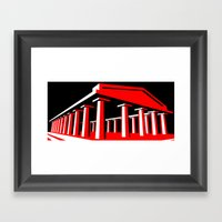 Parthenon Framed Art Print
