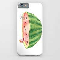 iPhone & iPod Case featuring Fresh Watermelon by Judith Chamizo