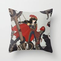 Nautical Matador Throw Pillow