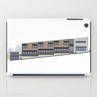 School Facade iPad Case