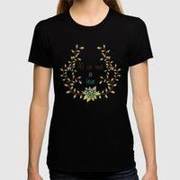All we need is Love Womens Fitted Tee Black SMALL