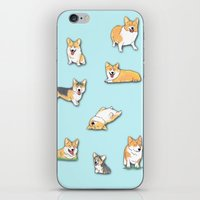 Corgi iPhone & iPod Skin