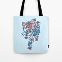 Close-Mouth Grin On A Ga… Tote Bag