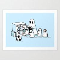 Cleanup Art Print