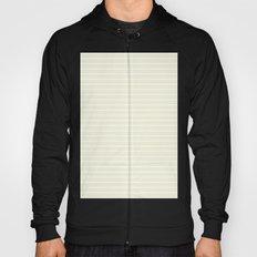 Horizontal Lines (White/Beige) Hoody