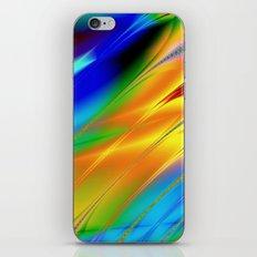 Digital art fractal colors iPhone & iPod Skin
