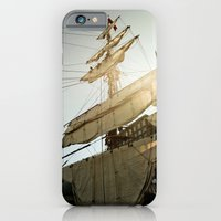 Tall Ship In Boston Harb… iPhone 6 Slim Case