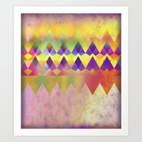 Camping Dreams Art Print