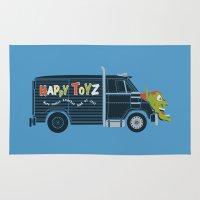 The Happy Toyz Van Rug