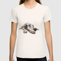 Spotted dog#3 Womens Fitted Tee Natural SMALL