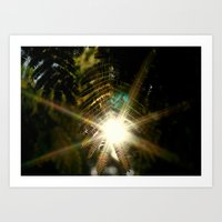 Shine Through Art Print