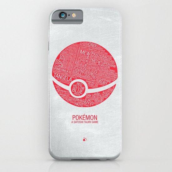 Pokemon Typography iPhone & iPod Case