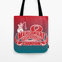 Mario Kart 8 Champion Tote Bag