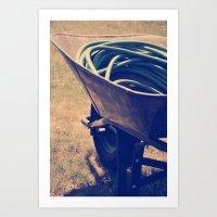 Yardwork Art Print