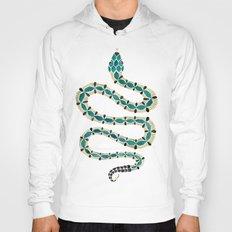 Emerald & Gold Serpent Hoody