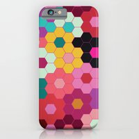 iPhone & iPod Case featuring Honeycomb Blooms by Michelle Nilson