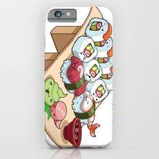 Kawaii California Roll and Sushi Shrimp and Tuna Nigiri iPhone 6 Slim Case