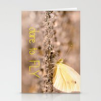 Dare to Fly Stationery Cards