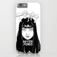 iPhone & iPod Case featuring rotten minds by Caitlion