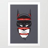 Defrag Man Art Print