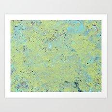 Slime Mold Art Print