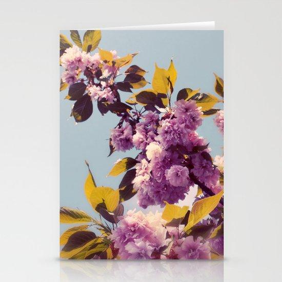 Vintage Blooms Stationery Card
