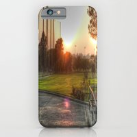 iPhone & iPod Case featuring Sunset Golf by Christine Workman