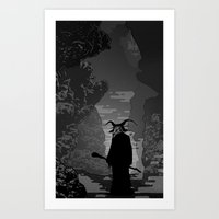 The Demon Art Print