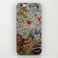 super skribb iPhone & iPod Skin