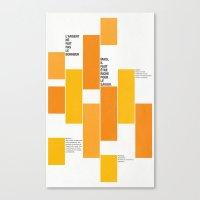 Axiome Canvas Print