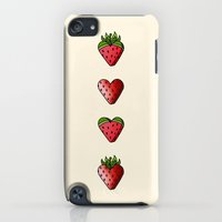 iPod Touch Cases featuring Fruity Cuties by Meghan Matsumoto