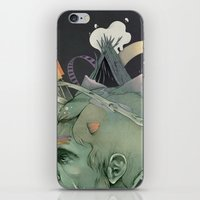 The Traveler Dreams iPhone & iPod Skin