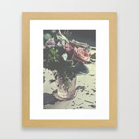 Euphoric Flowers  Framed Art Print