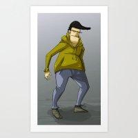 not an ordinary guy Art Print