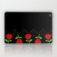 Rose Outline | Floral Laptop & iPad Skin
