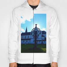 Old Church and Grave marker Hoody